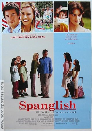 "the movie spanglish Positive —""spanglish"" is a tricky movie it is good, yes, but it doesn't go nearly far enough in some areas, seems to linger a bit in others, and occasionally hits us with a perfect scene."